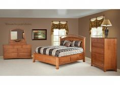 amish built bedroom - Pier Wall Bedroom Furniture