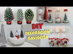 YouTube Christmas Centerpieces, Christmas Bulbs, Christmas Crafts, Christmas Decorations, Xmas, Holiday Decor, Cheap Christmas, Easy Diy Crafts, Diy Crafts For Kids