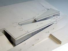 matos castillo | Mercado y Escuela de Música en Son Cervera | Mallorca | 2001, architectural model, maquette, maqueta, modulo: