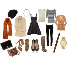 Everything you'd ever need to pack for a trip to Europe in the fall............. !!