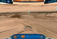 Take the rover for a spin around a virtual Mars crater. http://cnet.co/NhyC95