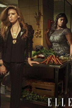 'Orange Is the New Black' Season Two - OITNB Cast in Spring Fashion - Elle