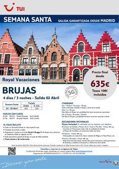 Semana Santa - Brujas. 3 noches. Desde Madrid 2Abril. Precio final desde 635€ ultimo minuto - http://zocotours.com/semana-santa-brujas-3-noches-desde-madrid-2abril-precio-final-desde-635e-ultimo-minuto-2/