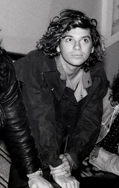 young face, Michael Hutchence
