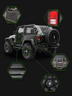 Zombie Slayer by Jeep Wrangler! Let's be serious.is there another jeep more practical for the Zombie Apocalypse? You never know get ready just in case. Jeep Jk, Jeep Truck, Jeep Gear, Offroader, Bug Out Vehicle, Jeep Accessories, Wrangler Accessories, Toledo Ohio, Jeep Wrangler Unlimited