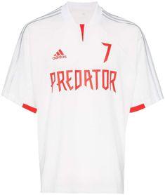 Adidas Originals Adidas Adidas Predator Beckham Football Shirt In White Beckham Football, Men's Football, Football Shirts, Adidas Predator, Ethical Brands, Adidas Originals Mens, Size Clothing, Sportswear, Street Wear