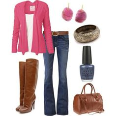 I found 'Pink Fall Outfit' on Wish, check it out!