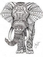 Affiche éléphant sur buzz2000.com