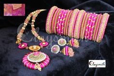 silk thread jewellery - Google Search