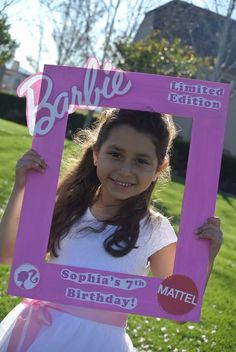Barbie theme party! Happy 7th Birthday Sophia!