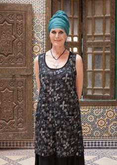"""""""Ökenblom"""" tunic in ramie – Blouses & waistcoats – GUDRUN SJÖDÉN – Webshop, mail order and boutiques 