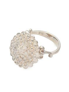 room地場産 | 鶫 tsugumi 銀小物製作所 kiku (L) silver ring