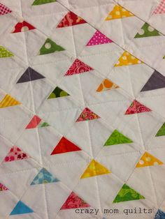 crazy mom quilts: Machine Quilting 101:Picking a Pattern - Quilting Up Up and Away from Sunday Morning Quilts