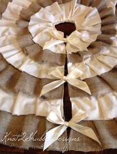christmas tree skirt pattern adore burlap pinterest tree skirts burlap tree skirt and burlap - Burlap Christmas Tree Skirt