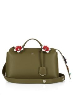 By The Way flower-embellished tail cross-body bag | Fendi | MATCHESFASHION.COM US