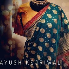 Benaras This vintage traditional Bengal Benarsi Silk saree is iconic. It's an overused expression but by my reckoning  this teal beauty fits the bill. Its vintage charismatic and most importantly it's very stylish. It's not for everyone but it is the one for one of the most stylish amongst you. For purchases email me at ayushk@hotmail.co.uk or whats app me on 00447840384707. We ship WORLDWIDE  #sarees#saris#indianclothes#womenwear #anarkalis #lengha #ethnicwear #fashion…