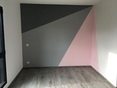 Child bedroom 2 ZOLPAN color and parquet ALSAPAN # children's room # furniture ideas # m . Bedroom Wall, Girls Bedroom, Bedroom Decor, Hot Pink Bedrooms, Room Wall Painting, Room Paint, Little Girl Rooms, New Room, Home Decor