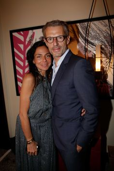 Sandra Zeitoun et Lambert Wilson