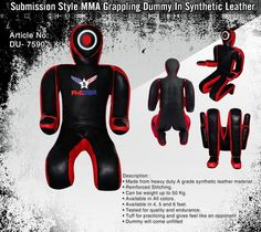 Best Submission Style MMA BJJ Grappling Dummy | Synthetic  Leather #FiveStarsMMA