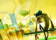 Shave it: Colorful Animated Short by 3dar | Inspiration Grid | Design Inspiration