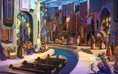 Magic Souq attraction concept art #IdeAttack Eontime Theme Park Yinchuan China