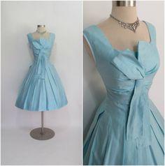 NEUSTETERS 1950's Vintage Light Blue Polished by RubyFayesVintage