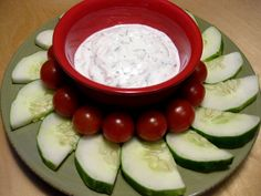 Greek Yogurt Dill Veggie Dip