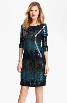 Karen Kane Sequin Sheath Dress | Nordstrom