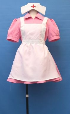 Pokemon Nurse Joy Cosplay Costume