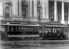 1910/20 Tram passing Parliment House