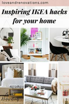 IKEA is the best place for stylish and affordable furniture, and hacking it to make it your own only makes it better! This post has 16 amazing ideas for hacking IKEA furniture - I can't even believe the creativity here!