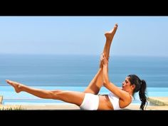 BEST 60 min Beginner Pilates Workout W/Voice Over - YouTube