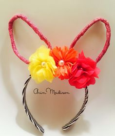Shabby Chic Bunny Ears