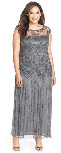 This Pisarro Nights dress is extremely comfortable, and the beading is absolutely gorgeaous
