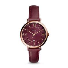 Jacqueline ist die perfekte Uhr für selbstbewusste Frauen mit Charme und Stil. Das klassische Lederband mit klarem Gehäuse und Zifferblatt in edlem Bordeaux macht diese Uhr zum Must-have der Saison.