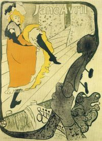 The World of Toulouse-Lautrec Lithographs (1891–1901) in the Museum of Fine Arts_Budapest_July 2014
