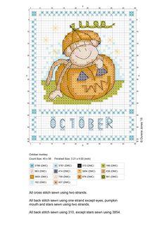 Outubro - Gráfico - Durene Jones