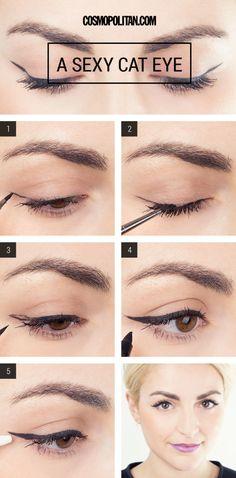 Fotos de moda | ¡Maquillaje de noche en 3 minutos! | http://soymoda.net