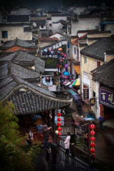 Village of Jing Tai, Gansu, China