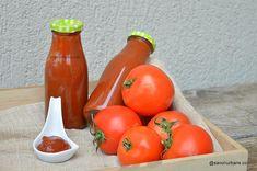 Ketchup de casă cremos ca cel din comerț însă fără conservanți | Savori Urbane Ketchup, Urban, Vegetables, Food, Canning, Fine Dining, Vegetable Recipes, Eten, Veggie Food