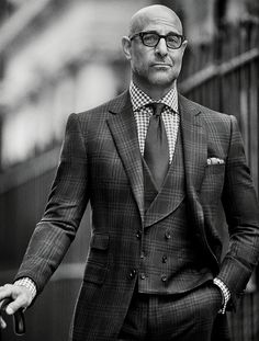 Who doesn't like to watch Stanley Tucci on screen? Well, Stanley Tucci, for one. 'Kind of horrifying,' he says. But what does he know? He's loved by Hollywood for his ability to inhabit great characters and produce dramatic moments that can transform a story. Meryl Streep says she owes him 'everything' for the success of The Devil Wears Prada and Julie & Julia. Now that's more like it — he should listen more to Meryl...