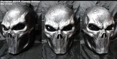 Punisher Mask 2012 Classic by *Uratz-Studios on deviantART