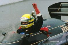 Remembering Senna's first win in F1