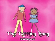Music for Classroom Management - The Tattling Song
