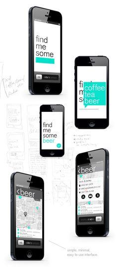 Local Brew app | Designer: Maggie Winters #ui #app