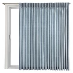 Royal Velvet® Supreme Pinch-Pleat/Back-Tab Thermal Patio Door Panel  found at @JCPenney