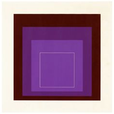 """Josef Albers """"White Lines Squares XI"""" (WLS XI Series), 1960s, published by Gemini G.E.L."""