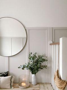 Hallway Inspiration, Decor Inspiration, Decor Ideas, Decorating Ideas, Flur Design, Home Design, Interior Design, Design Design, Interior Architecture
