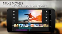 — Now available on Android mobile and tablets! —CyberLink brings the multi-award winning PowerDirector from PC to Android tablets and mobiles! Motion Video, Hd Video, Combine Pictures, Android Features, P Words, Video Editing Apps, Smartphone, Audio Track