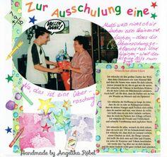 Zum Schulabschluss eine Zuckertüte (Größe 12 x 12cm) Kinderalbum